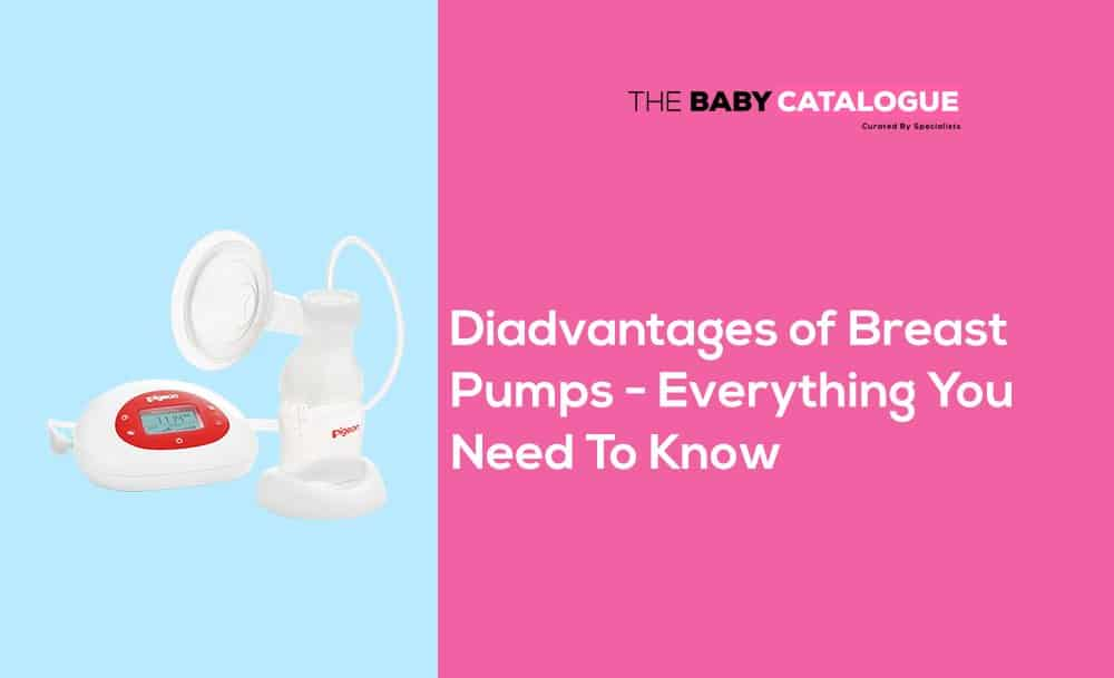 disadvantages of breast pump