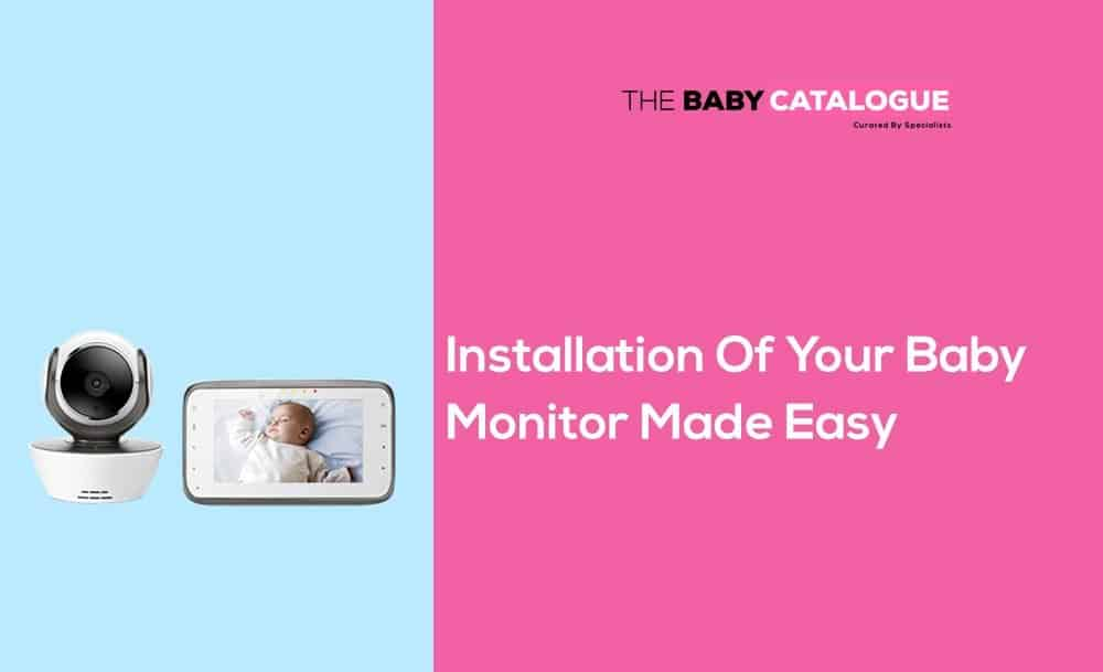 installation of baby monitor