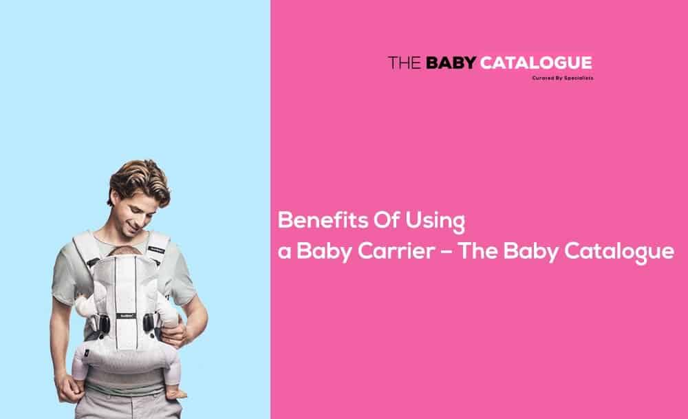 benefits of using baby carrier