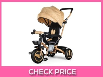 Fascol-4-in-1-Childrens-Folding-Tricycle