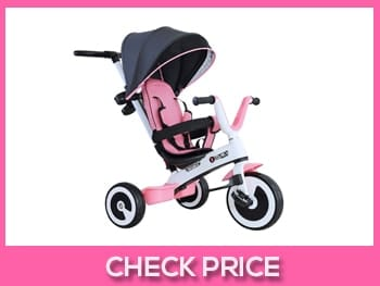 Homcom-Baby-Tricycle-Children's-Trike-4-In-1