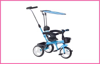 Boopi 4-in-1 Push Along Trike Stroller