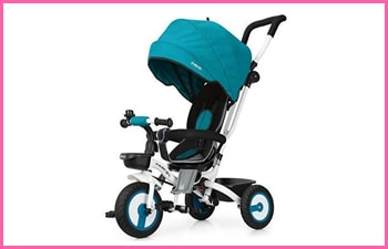 Fascol 4 in 1 Childrens Folding Tricycle