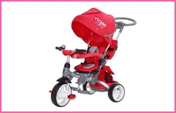 Little Tiger 4 in 1 Toddlers Trike Stroller
